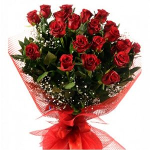 kırmızı gül güller kız isteme buket